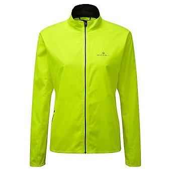 Ronhill Core Womens Lightweight & Breathable Running Jacket Fluo Yellow