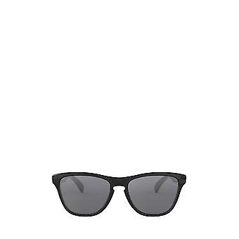 أوكلي OJ9006 مصقول النظارات الشمسية السوداء للجنسين