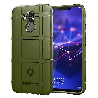 Langlebige stoßfeste Schutzhülle für Huawei Mate 20 Lite - dunkelgrün