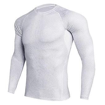 Ropa interior térmica, manga larga, camisetas deportivas de ejercicio