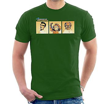 Supercar Mike Mitch And Professor Popkiss Men's T-Shirt