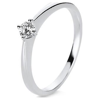 Luna Creation Promessa Solitairering 1E206W456-2 - Ring width: 56