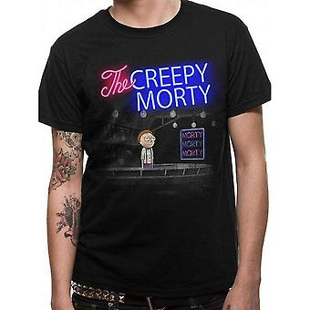 Rick And Morty Unisex Adulte Barman Morty T-Shirt