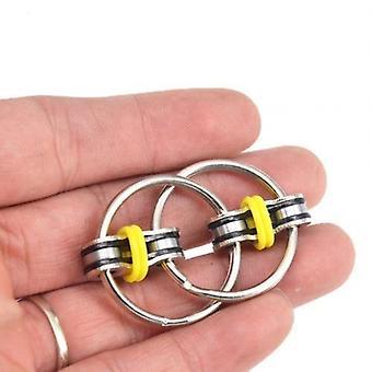 Dekompression Kette Anti Stress Fidget, Schlüsselanhänger Hand Spinner Fidget Lager