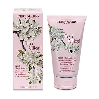 Among the Cherry trees Scrub MagicAzione 150 ml of gel