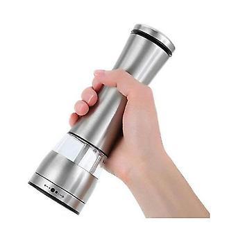 Electric Battery Salt Or Pepper Grinder Adjustable Shakers Automatic