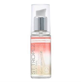St. Tropez Self Tan Purity Vitamins Bronzing Water Face Serum 1.69oz / 50ml