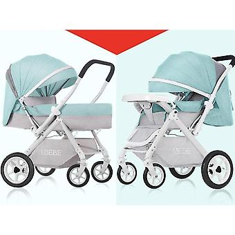 Can Sit Reclining Lightweight Folding Two-way High Landscape Newborn Carriage