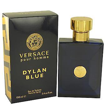 Versace Pour Homme Dylan Blue Eau De Toilette Spray By Versace 3.4 oz Eau De Toilette Spray
