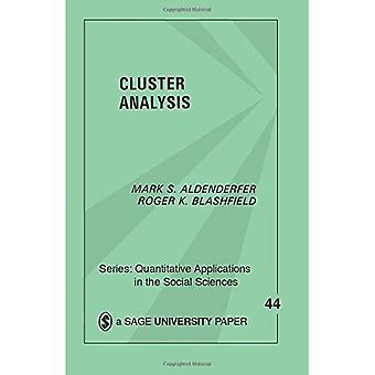 Cluster Analysis (Quantitative Applications in the Social Sciences)