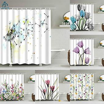 Flower Dandelion Shower Curtains( Set 1)