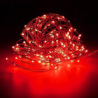 LED waterproof light string, bedroom, photo decoration, moldable copper wire LED light string
