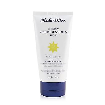 Noodle & Boo Play-Day Mineral Sunscreen SPF-30 - For Face & Body 113.4g/4oz