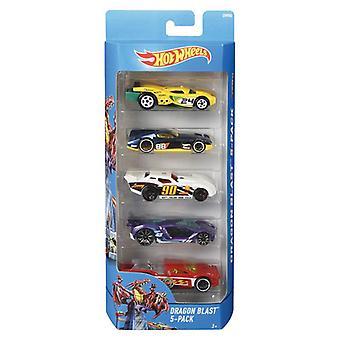 Hot wheels voitures 5pk