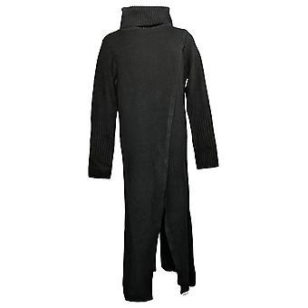 G By Giuliana Women's Sweater Black Label Crossover Maxi Black 718925232