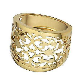 14 k Yellow Gold Filigree sigaar Band Ring