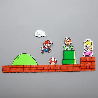 Super Fridge Magnets Réfrigérateur Gaming Cartoon Ice Box Sticker