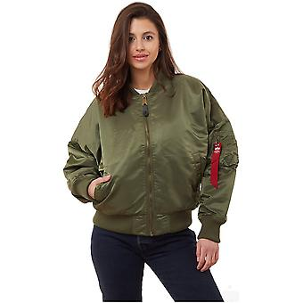 Alpha Industries MA1 OS Wmn 12800101 universal all year women jackets