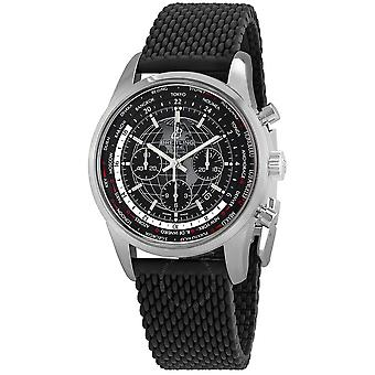 Breitling Transocean Chronograph Automatic Black Dial Men's Watch AB0510U4-BE84-256S-A20D.2
