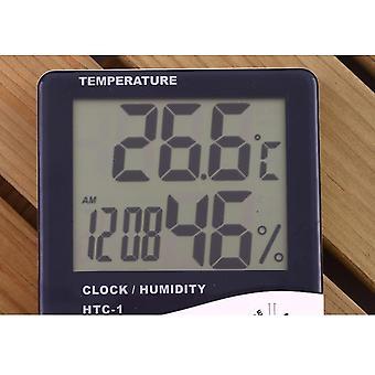 Baby Room Digital Lcd Temperatur Og Fuktighet Miljø Testing Monitor