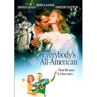 Everybody's All American (1988) [DVD] Yhdysvallat tuonti