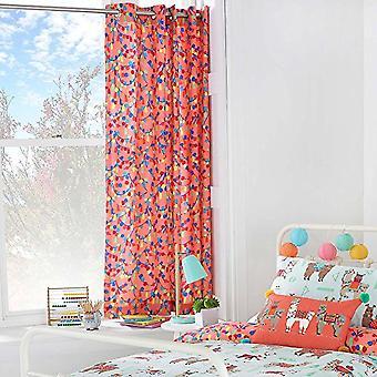 Riva Paoletti Childrens/Kids Llamarama Ringtop Eyelet Curtains