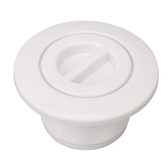 Water Outlet Inner Diameter 1.89inch Swimming Pool Suction Outlet White