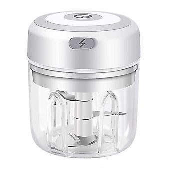 Mini recargable inalámbrico ajo masher cocina herramienta doméstica trituradora de carne haciendo alimentos complementarios