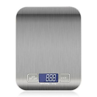 Stainless Steel Cooking Weighing Kitchen Scale 5kg