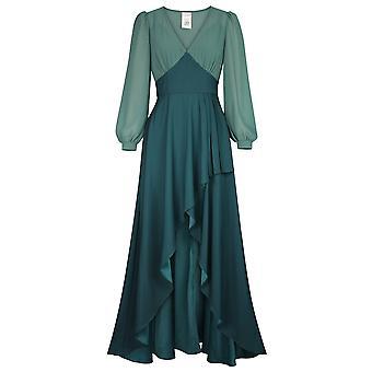 Chic Star Empire Taille Robe En Vert