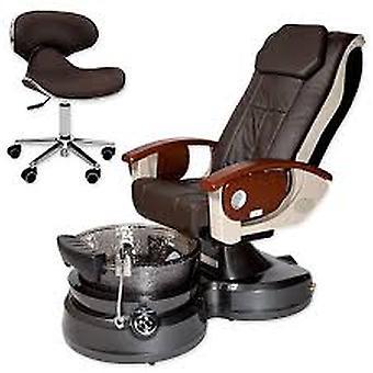 كرسي باديكير مع بطانة المتاح من معدات صالون التجميل