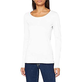 edc de Esprit 080CC1K330 Camiseta, Blanco (110), S Mujer