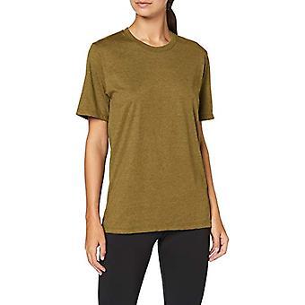 Trigema 537202 T-Shirt, Yellow (Goldlack-Melange 666), M Woman