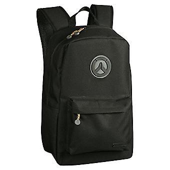 JINX- Overwatch Blackout Game Backpack, Black/Grey Color, 889343086656