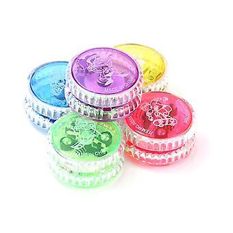 Led blinkende Yoyo Ball, klassische Kupplung Mechanismus, Magic Yo-yo