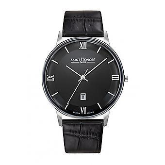 Men's Watch 8530121NRAN - Black Leather