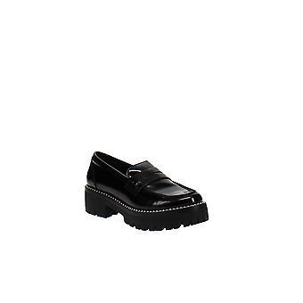 Aqua | Bela Studded Platform Loafers