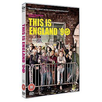 כאן אנגליה '90 DVD