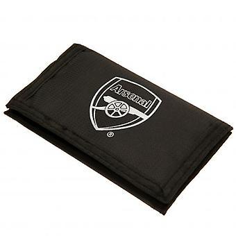 Arsenal FC Black Nylon Wallet