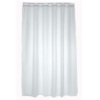 Blue Canyon Plain Shower Curtain White 320