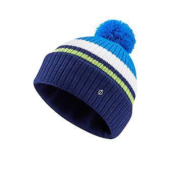 Oscar Jacobson Kids Knit Bobble Hat Knit Bobble Cap Turn-Up Hem Warm