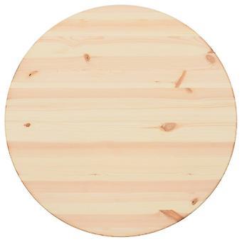 vidaXL Pöytämänty luonnonkierros 25 mm 70 cm