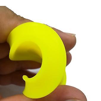 6pcs mini lomme glidelås chip flygende skive leketøy