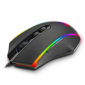 CHROMA M710 USB Wired Gaming Computer Mouse Wired 10000 DPI 8 buttons 7 color mice Programmable