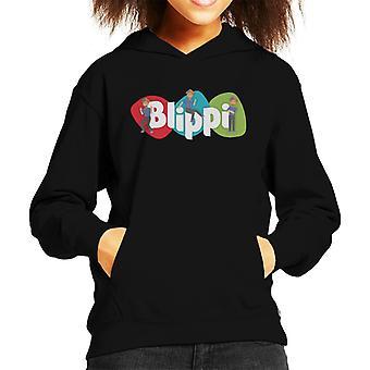 Blippi Animated Logo Kid's Hooded Sweatshirt