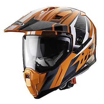 Caberg X-Trace Savana //Anth/ Dual Sport Helmet Orange/Black/Anthracite/White