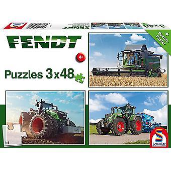 Fendt: 1050 Vario/724 Vario/6275L 3x48 Jigsaw Puzzles