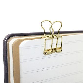 Zaciski Spinacze do papieru itp w metalu 3 sztuki Mieszane kolory Medium