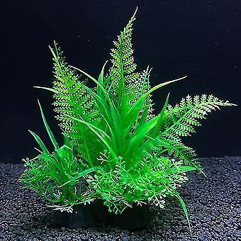 Mesterséges növények Akvárium Decor Víz Gyomok Dísznövények