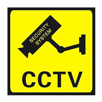 Square Cctv Surveillance Security 24 Hour Monitor Camera Warning Stickers